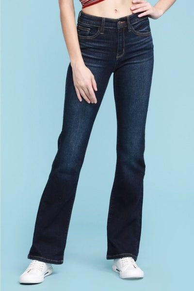 Judy Blues Whiskered Dark Bootcut