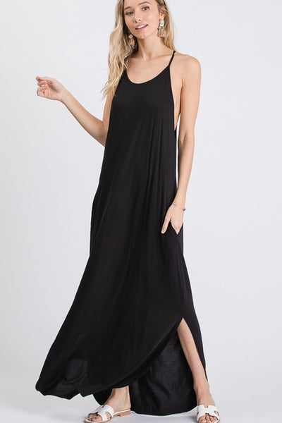 SMALL ONLY - SpagHetti Strapped Tank Dress