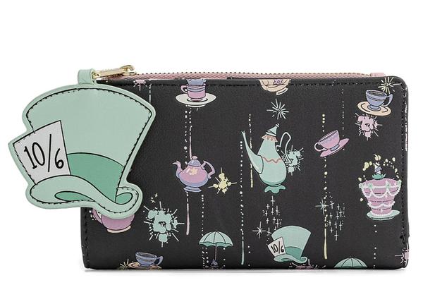 Disney Alice In Wonderland Very Merry Unbirthday Flap Wallet