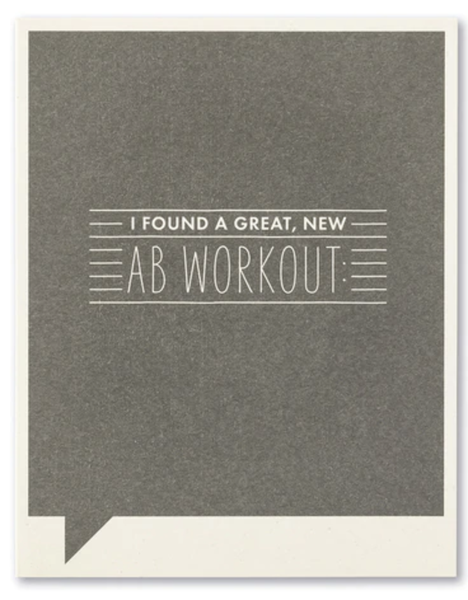 AB Workout...card