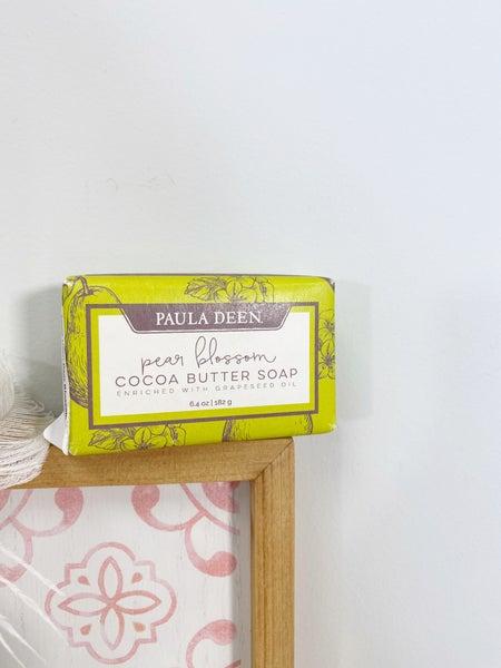 Paula Deen Pear Blossom Soap