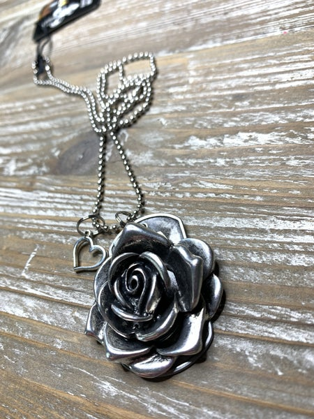 Kate Mesta Black & Silver Collection Rose