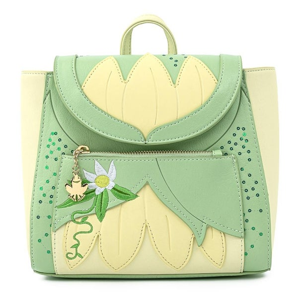 !LOUNGEFLY X DISNEY PRINCESS & THE FROG TIANA COSPLAY MINI BACKPACK