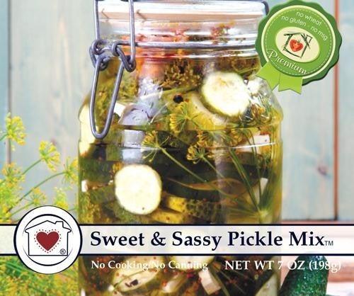 Sweet & Sassy Pickle Mix