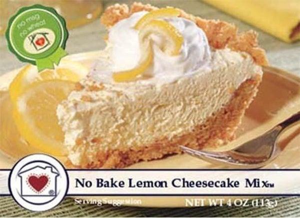 No-Bake Lemon Cheesecake Mix