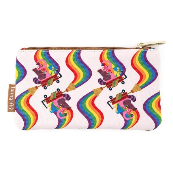 LOUNGEFLY X PIXAR INSIDE OUT BING BONG AOP NYLON POUCH