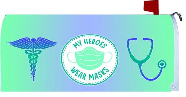 Mailbox Makeover Magnet - Heroes Mask