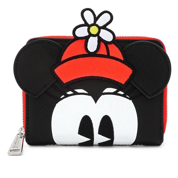 LOUNGEFLY X DISNEY POSITIVELY MINNIE POLKA DOT ZIP AROUND WALLET