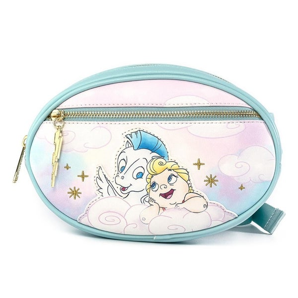 !LOUNGEFLY X DISNEY HERCULES BABY HERC AND PEGASUS FANNY PACK
