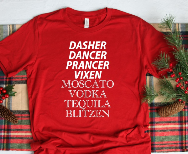 Med ONLY - Santa's Boozy Reindeer