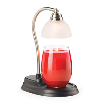 Pewter Aurora Lamp