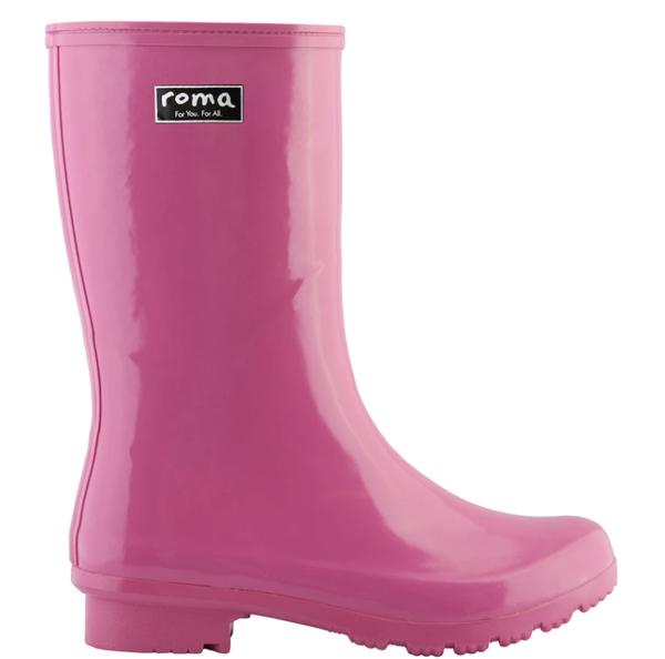 Emma Mid Magenta Rain Boots