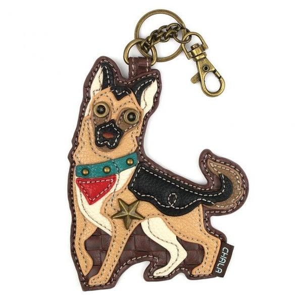 Chala - German Shepherd - Key Fob/Coin Purse