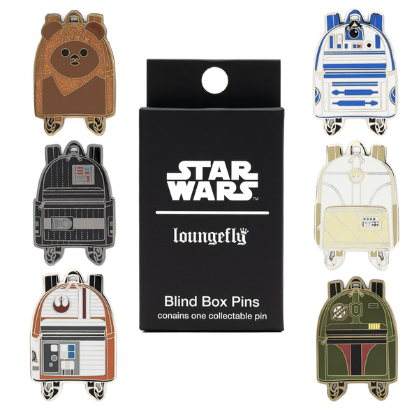 Loungefly Star Wars Enamel Blind Box Pin