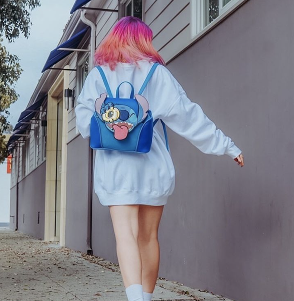 !Disney Lilo & Stitch Pineapple Backpack