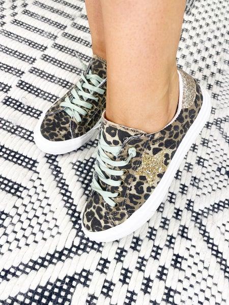 Gypsy Jazz Cosmic - Leopard Lace Up