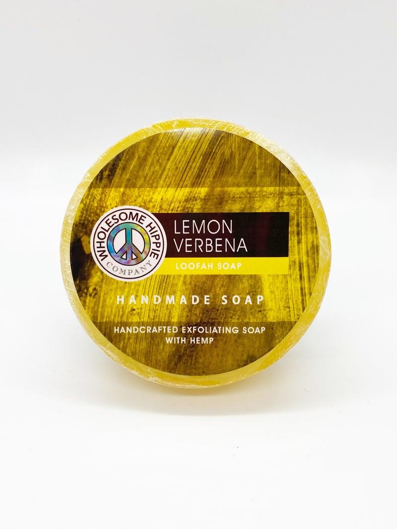 WH 4.5oz Lemon Verbena Loofah Soap