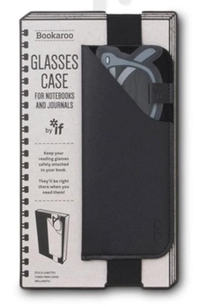 Bookaroo Black Glasses Case