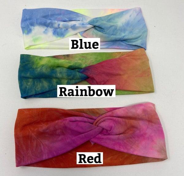 Tie Dye Twist Headbands