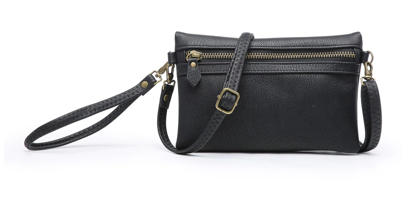 Hobo Wallet with Crossbody Strap