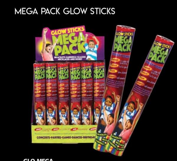 Mega Pack Glow Sticks
