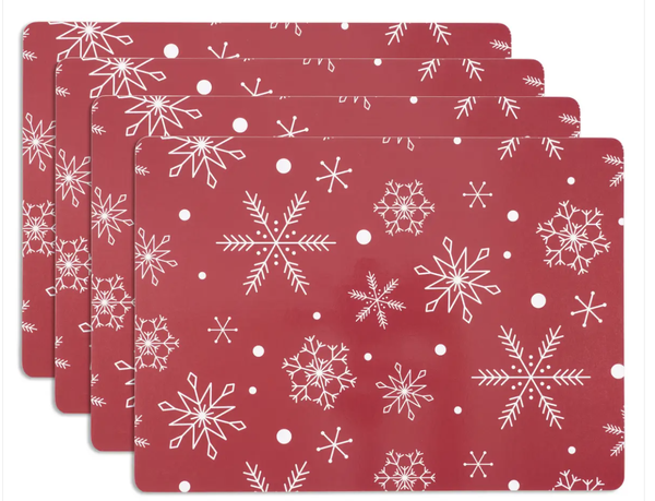 Christmas In July Cork Placemat Set Of 4
