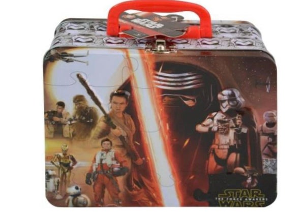 Star Wars Large Tin Box with Puzzle Inside