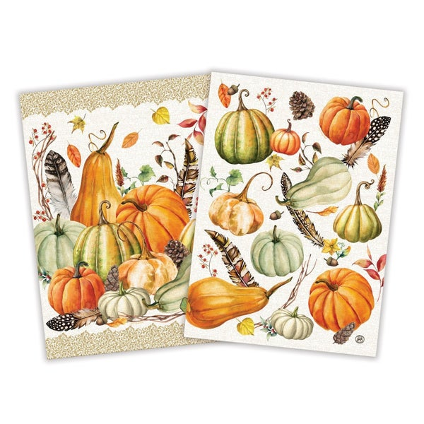 Michel Design Works Sweet Pumpkin Kitchen Towel (Set of 2)