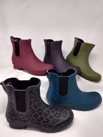 "Roma ""Chelsea"" Short Rain Boots"