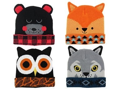 Critter Collection Knit Hat