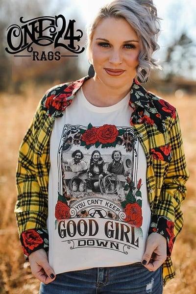 Good Girl Down Tee
