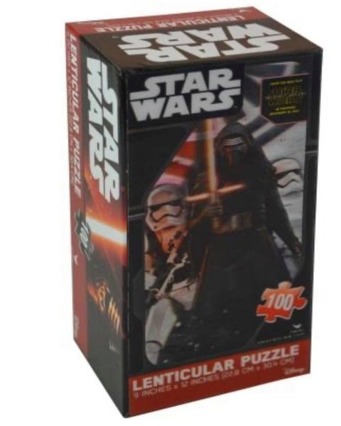 Star Wars Lenticular 3D 100pc Puzzle 9 inches x 12 inches