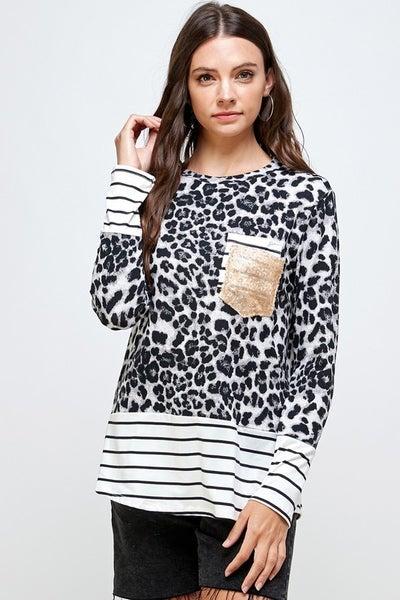 Leopard, Stripes, & Sequin Galore!