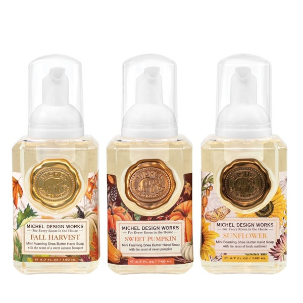 Michel Design Works Mini Foaming Handsoap Set