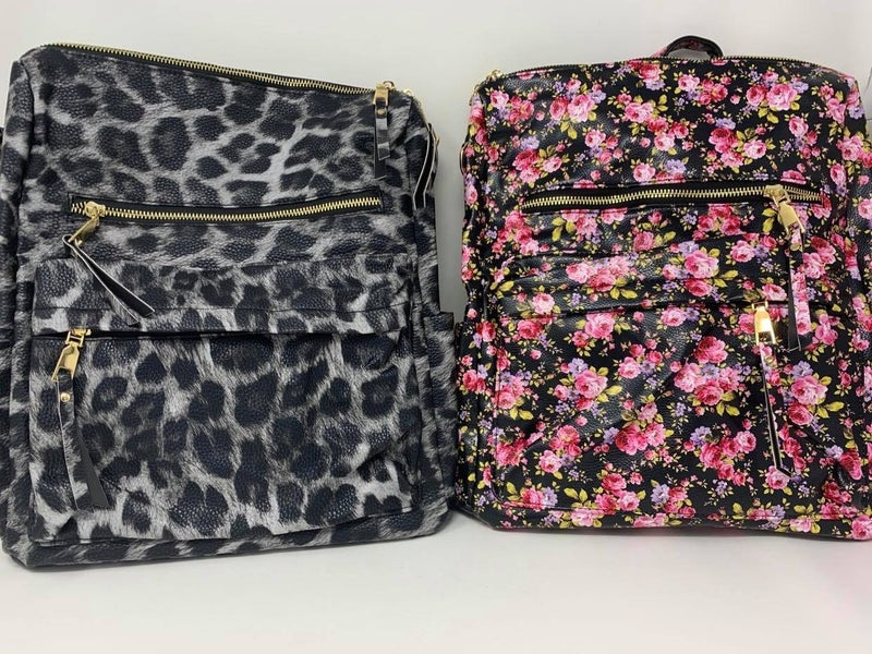 Perfectly Printed Convertible Backpack