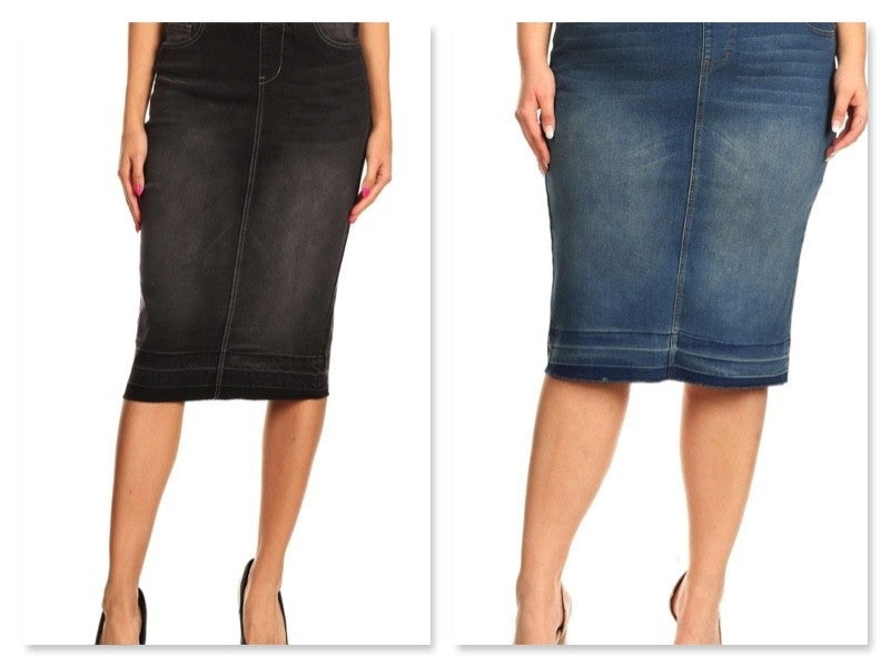 Pick your Wash Pencil Skirt