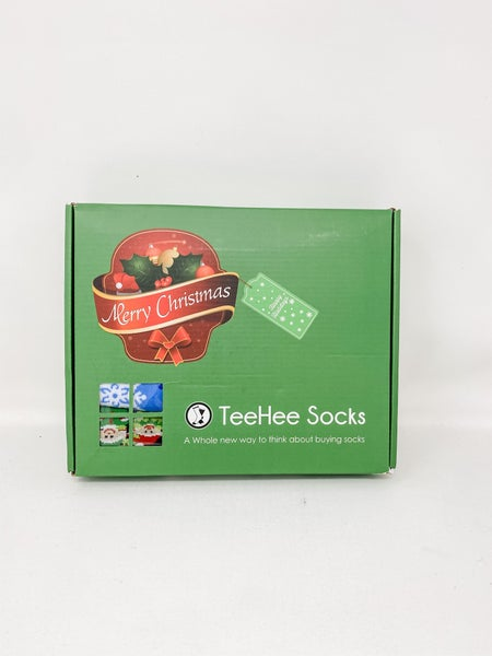 TeeHee Socks in a Box Mens Crew, size 10-13