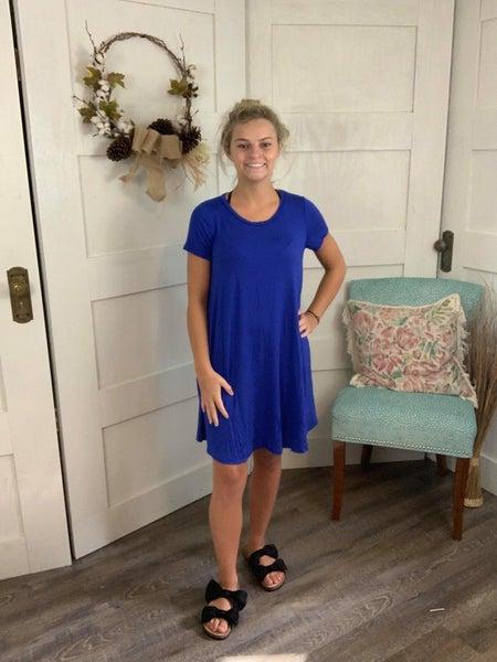 Nip-Kit Short Sleeve Tee Dress