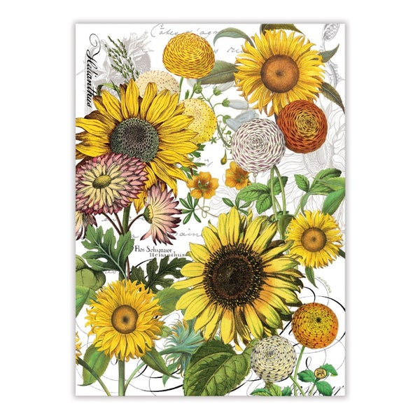 Michel Design Works Sunflower Kitchen Towel