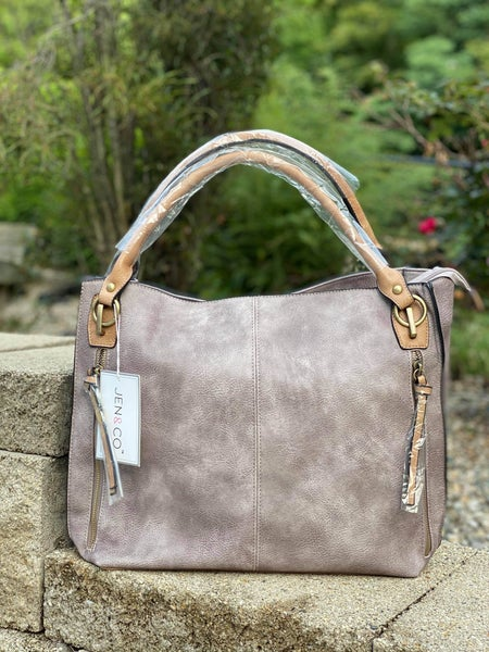 Monogrammable Side Pocket Tote