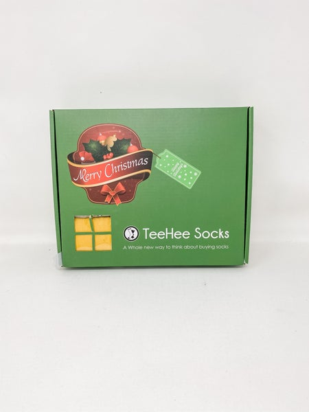 TeeHee Socks In a Box Women Knee High, Size 9-11
