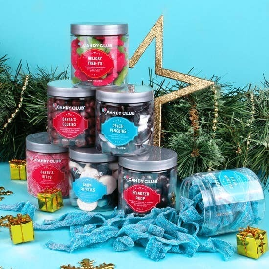 Holiday Candy Club Jars