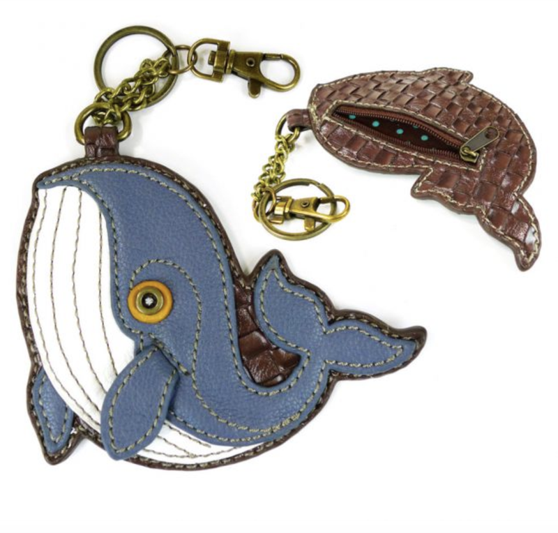 """Chala"" Ocean Key/Coin Fob"