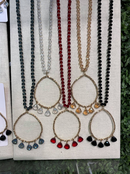 Atlanta Market Special - Beaded Hoop Necklace