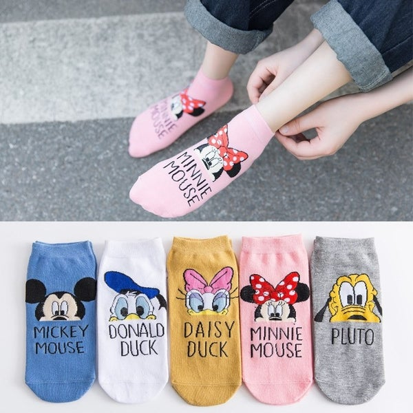 Magical 5 pk Low Ankle Socks