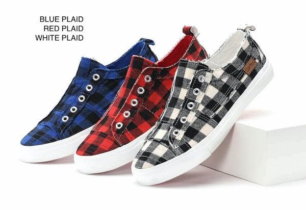 Corky's Babalu Plaid Sneaker