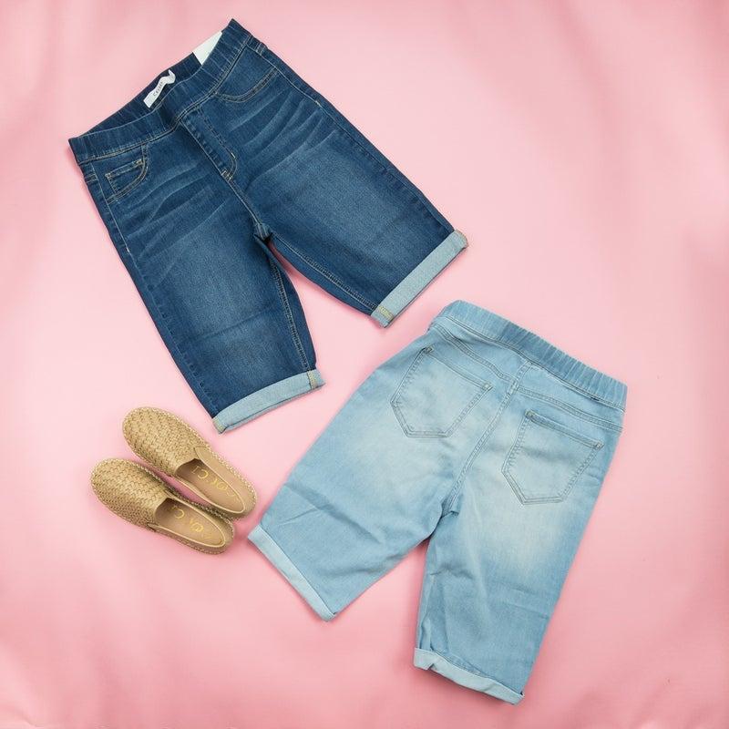 Comfy Denim Shorts *all sales final*