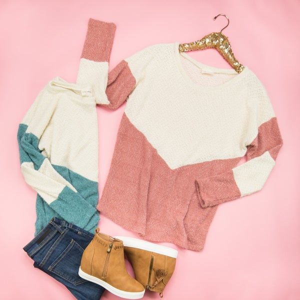 Time To Chill Sweater *all sales final
