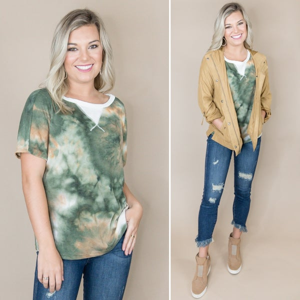 Fall Tye Die Top *all sales final*