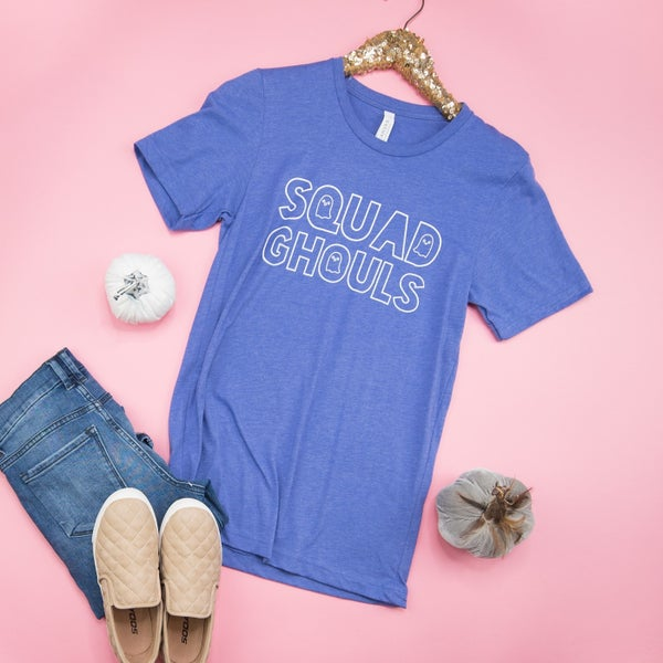 Squad Ghouls Tee *ALL SALES FINAL*